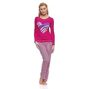 Italian Fashion IF Pijama Camiseta y Pantalones Mujer P15L1 0223