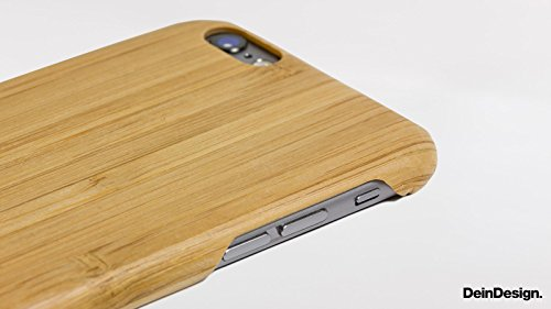 Apple iPhone 6 Holz Hülle Tasche Case Schutzhülle Wooden Kevlar Cover Holz Case Kevlar Bambus