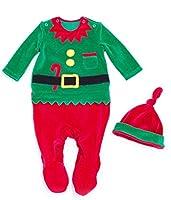 Vine Natale Bambini Costume Neonati Abbigliamento   Berretto Vestito Di  Natale Set 7b740f7016e