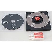Limpiador de lente de CD/VCD/unidad de DVD y disco limpiador kit de limpieza lente de láser disco + Fluido Laptop Wii Xbox