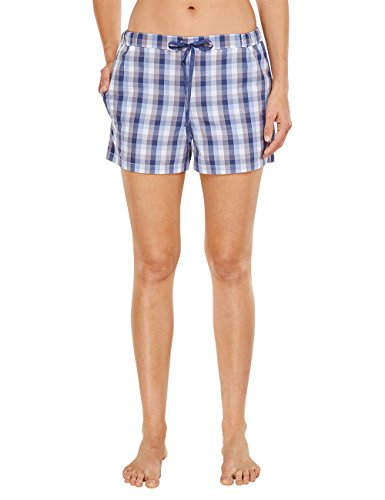 - 41L k9DW9QL - Schiesser Women's Mix & Relax Web Shorts, Peached Pyjama Bottoms