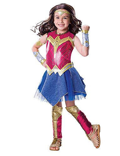 Mary home Wonder Woman Kostüme Child Cosplay Kinder Performance Show Kleidung Wonder Woman Wonder Woman-Mädchenkostüm Lizenz,L (Kostüm Wonder Gürtel Woman)