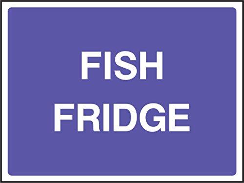 Lebensmittelverarbeitung Sicherheit Aufkleber Fisch Kühlschrank