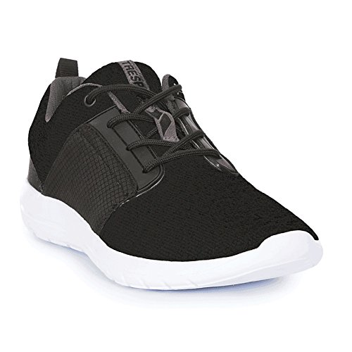 Trespass Romanetti, Chaussures de Fitness Homme Noir