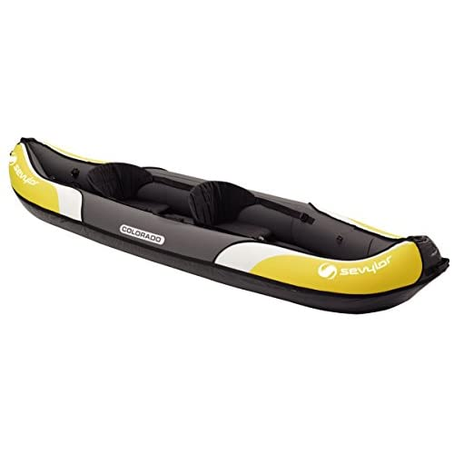 41L nD4ADAL. SS500  - Sevylor Inflatable Kayak Colorado - 2 man Canadian Canoe, Sea Kayak, 331 x 88 cm