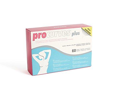Procurves Plus - Pastillas para aumentar el pecho, aumento de senos