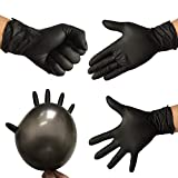 Best Nitrile - Generic 10Pcs Disposable Black Nitrile Gloves Medical Tattoo Review