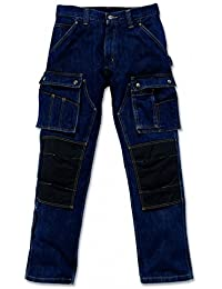 Carhartt Pants Denim Multi Pocket Tech Jeans