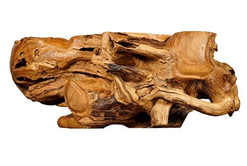 Mesa de Madera de Pieza de tronco de Teca
