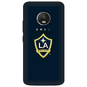 Koolbug LA Galaxy Hard Polycarbonate Designer Back Case Cover For Motorola Moto E4 Plus