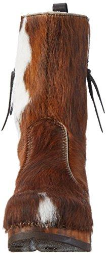 Woody Rose 8010, Bottes femme Multicolore - Mehrfarbig (natur)