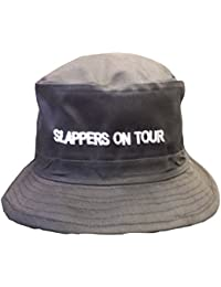 Adults Black Slappers On Tour Hen Party Joke Fancy Dress Hat[x6]