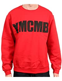 YMCMB - YMCMB - Sweat Rouge logo Noir - Homme