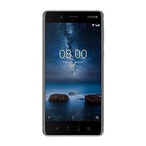 Nokia 8 SIM-Free Smartphone - Steel