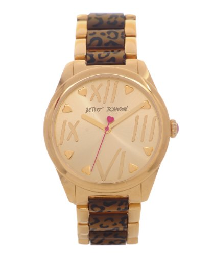 betsey-johnson-womens-quartz-watch-with-gold-dial-analogue-display-and-multicolour-bracelet-bj00105-