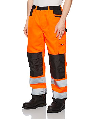 Result Safe Guard Cargo Trousers, Pantalon Homme (Flo Orange), XXX-Large