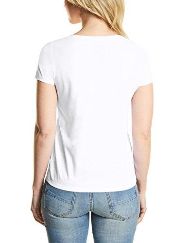 Cecil Damen T-Shirt Weiß (White 10000)