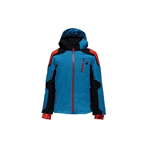 Spyder Jacke Skifahren Junge Boy's Speed Jacke 2016/2017 blau/schwarz/rot # 4-10 Jahre