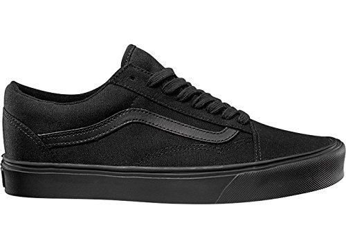Vans Unisex-Erwachsene Ua Old Skool Lite Sneakers, (Canvas) Black/Black (canvas) Black/black