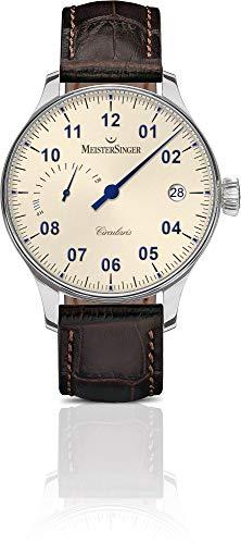 MeisterSinger CIRCULARIS POWER RESERVE CCP303 Elegante orologio da uomo Design senza tempo