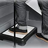 Portable Half Step Stool Mobility Aid for Elderly | Non Slip Plastic Disability