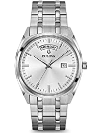 Bulova Men's Classic Stainless Bracelet Watch