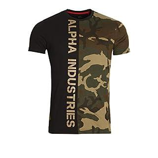 Alpha Industries Camo Half T-Shirt Large