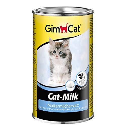 GimCat Cat-Milk Muttermilchersatz - Vitaminreiche Katzenmilch mit Taurin und Calcium