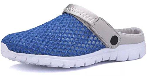 Unisex Zuecos Mujer Hombre Playa Piscina Sanitarios Sandalias Verano Respirable Zapatillas Ahueca hacia Fuera