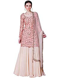4f32a17c2 Amazon.in  Silk - Salwar Suits   Ethnic Wear  Clothing   Accessories
