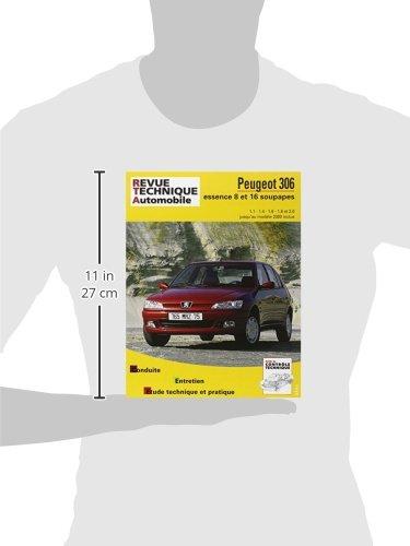 Peugeot 306 : moteurs essence 1.1, 1.4, 1.6, 1.8, 2.0 jusqu'au modèle 2000 inclus