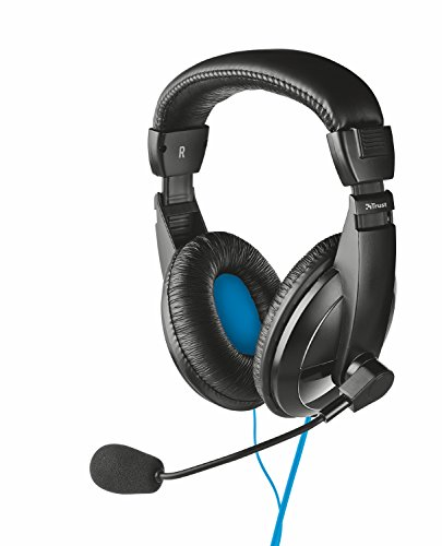 Price comparison product image Trust Quasar USB Headset for PC,  Laptop with Stereo sound - Black