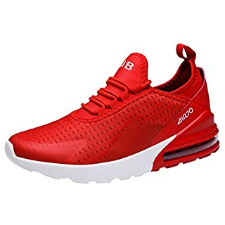 MEETEW Men's Lightweight Casual Walking Athletic Shoes Breathable Running Slip-on Sneakers Socks Shoes