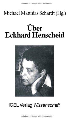 Über Eckhard Henscheid: Rezensionen und Porträts (Reihe Literatur- und Medienwissenschaft)