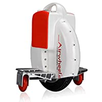 AIRWHEEL X3S Monoroue Electric Unisex Adult Travel Wheel, White/Red