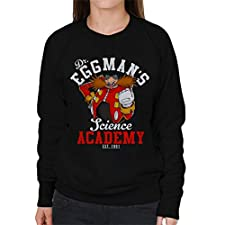 Dr Eggmans Science Academy Sonic The Hedgehog Women's Sweatshirt