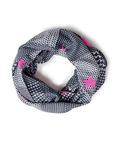 Cecil Damen 570918 Schal, neon active pink, One Size (Herstellergröße:A)