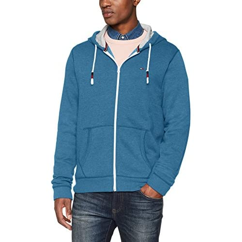 41L02h3byDL. SS500  - Tommy Jeans Men's Original Zip Hoodie Hooded Sweatshirt