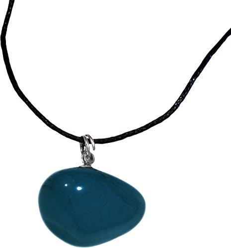 Halskette oder Armband–Stein Chalcedon blau–Stein der Besänftigung