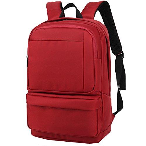 Borse Yy.f Spalla Borse Business Casual Borse Porta Computer Sacchetti Regalo Zaino Maschio Antifurto Zaino 3 Colori Red