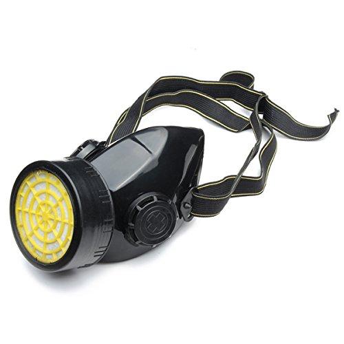 HELEISH Spray Respirator Gassicherheit Anti-Staub-Chemikalienfarbe Dual Cartridge Mask Zubehörwerkzeug - Dual Cartridge Respirator