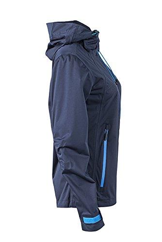 James & Nicholson Damen Outdoor Jacket Jacke Blau (Navy/Cobalt)