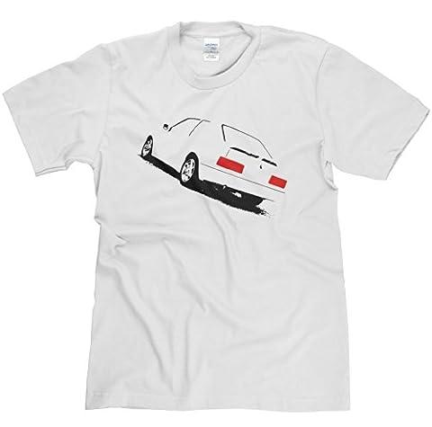 RS Turbo Series 2 Petrol Head T-Shirt (white/print