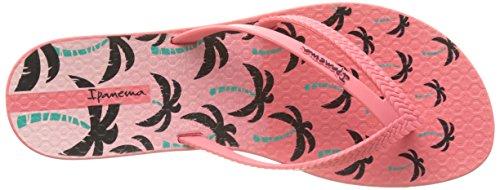 Ipanema - Bossa Print Fem, Infradito Donna Rosa (Pink)