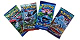 Pokemon TCG: 4 Booster Packs – 40 Cards Total| Value Pack Includes 4