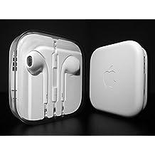 Auriculares originales de Apple iPhone 5, 5S, 5C, 6 Plus, 6S, 6S Plus, iPad Air 4 5 6, iPad 1 2 3 4, MD827ZM/A MD827, blanco
