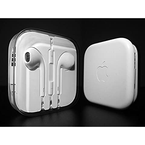 Auriculares originales de Apple iPhone 5, 5S, 5C, 6 Plus, 6S, 6S Plus, iPad Air 4 5 6, iPad 1 2 3 4, MD827ZM/A MD827,