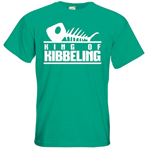 getshirts - Gronkh Official Merchandising - T-Shirt - Dead by Daylight - King of Kibbeling Pacific Green