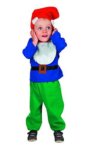 stüme Junge Karneval Fasching Blau Grün Rot (Zwerg Kostüm Kleinkind)