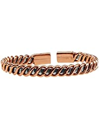 Bracelet cuivre et zinc torsadé